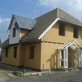Holzrahmenhaus Rohbau